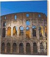 Colosseum  Wood Print by Mats Silvan