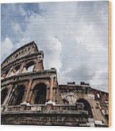 Colosseum  Rome, Italy Wood Print
