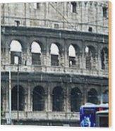 Colosseum Two Wood Print