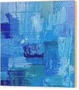 Colour Blue 2 Wood Print