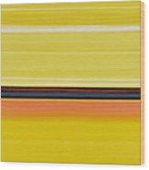 Colour Energy 13  Wood Print by Izabella Godlewska de Aranda