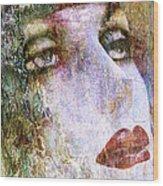Coloured Woman Wood Print