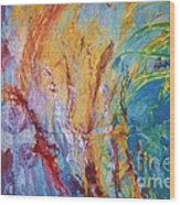 Colourful Abstract Wood Print