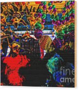 Colours De Nola 2 Wood Print