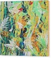 Colours Experiments Wood Print
