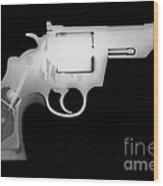 Colt 357 Magnum Reverse Wood Print