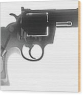 Colt 357 Magnum X Ray Photograph Wood Print