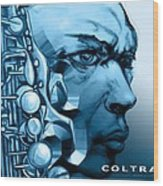 Coltrane Wood Print
