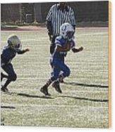 Colts Vs Bruins 7034 Wood Print