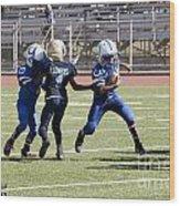 Colts Vs Bruins 7128 Wood Print