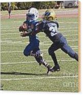 Colts Vs Bruins 7134 Wood Print