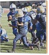 Colts Vs Bruins 7140 Wood Print
