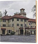 Columbia Gorge Hotel Wood Print