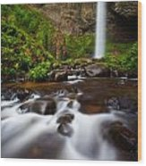 Columbia Gorge Richness Wood Print