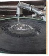 Columbia Record Wood Print