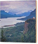 Columbia River Gorge Wood Print