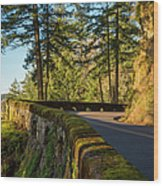 Columbia River Gorge Highway Wood Print