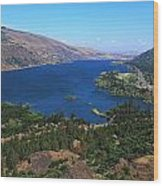 Columbia River Gorge Wood Print