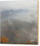Columbia River Hidden Wood Print