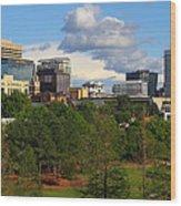 Columbia Skyline -- 03 25 2012 C Wood Print