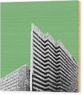 Columbia South Carolina Skyline 2 - Apple Wood Print
