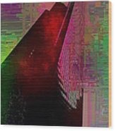 Columbia Tower Cubed 3 Wood Print