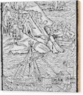 Columbus Hispaniola, 1492 Wood Print