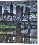 Columbus Ohio Downtown IIi Wood Print