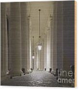 Column Wood Print