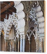 Columns And Arches No2 Wood Print