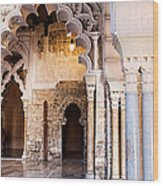 Columns And Arches No3 Wood Print