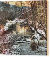Colville River Wood Print