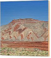 Comb Ridge Utah Near Mexican Hat Wood Print by Christine Till