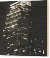 Comcast Center Wood Print