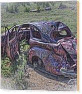 Comet Mine Jalopy - Montana Wood Print