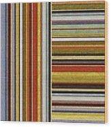 Comfortable Stripes Lx Wood Print
