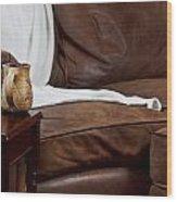 Comfy Sofa Wood Print