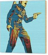 Commando Cody 2 Wood Print