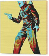 Commando Cody 3 Wood Print