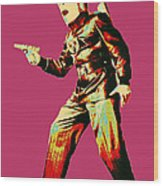 Commando Cody 4 Wood Print