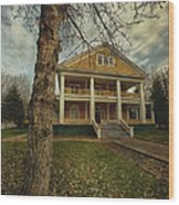 Commissioner's Residence Wood Print