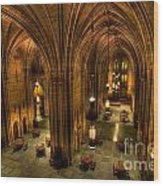 Commons Room Cathedral Of Learning University Of Pittsburgh Wood Print