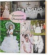 Communion Photography Wood Print