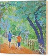 Community On The Run Wood Print
