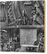 Comox Logging Engine No.11 Wood Print