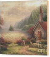 Compassion Chapel Wood Print