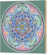 Compassion Mandala Wood Print
