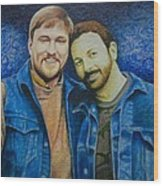 Complete_portrait Of Craig And Ron Wood Print