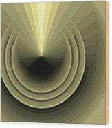 Composition 120 Wood Print