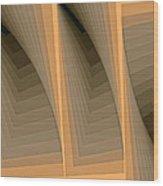 Composition 137 Wood Print